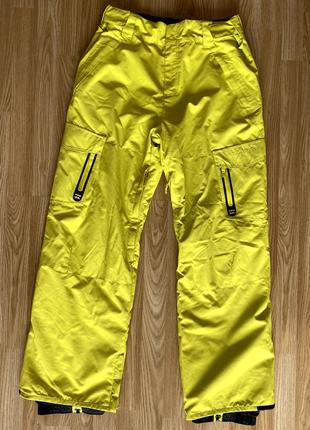 Снобордические штаны billabong 10/10к (size l)