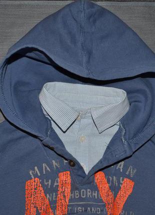 104 см. 3/4 года zara boys. толстовка-рубашка, спортивная кофта, худи, пайта для мальчика.
