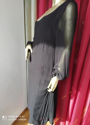 🎼🎼🎼шифонове шифоновое вечернее платье большого размера noa noa