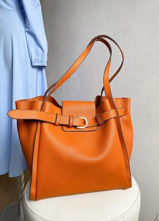 Сумка оранжевая сумочка трендовая carpisa