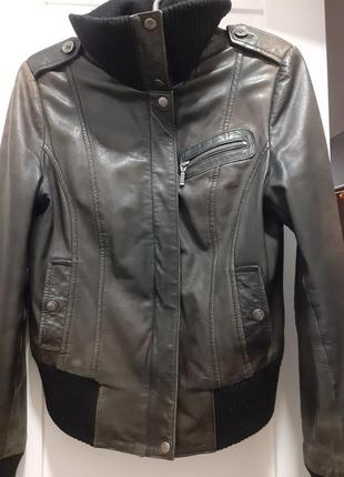 Кожаная куртка yes or no