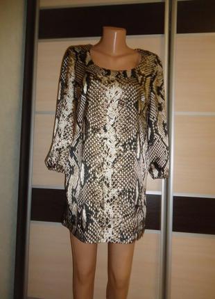 Тонкое платье marks & spencer