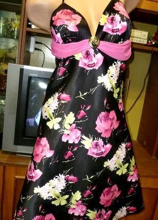 Ооочень красивое нарядное летнее платье с открытой спинкой коктельное вечернее1 фото
