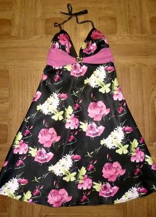 Ооочень красивое нарядное летнее платье с открытой спинкой коктельное вечернее4 фото