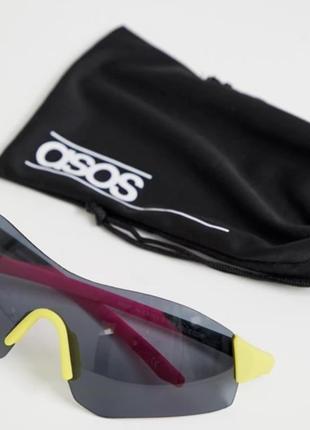 Asos design  солнцезащитные очки маска