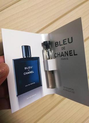 Туалетная вода одеколон bleu de chanel от chanel ☕ объём 5мл