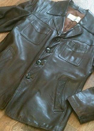 Albertsson (швеция) - кожаная куртка разм.50
