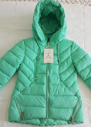 Стильная, утепленная куртка, р. s, m, l