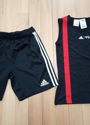Комплект adidas y-3 для спорту оригінал. ріст 150-160. як новий