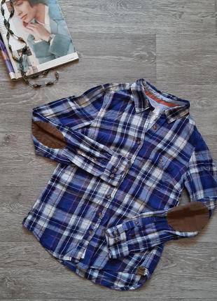 Sale рубашка в клетку h&m