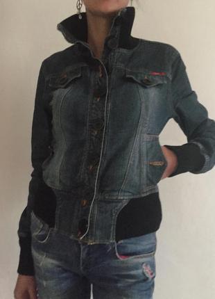 Джынсовая куртка, бомбер