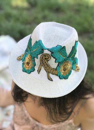 Соломенная шляпа челентанка