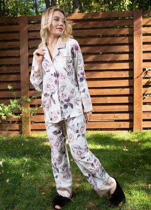 Пижама из шелка