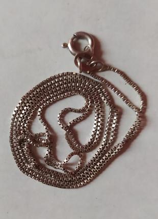 Серебряная цепочка/украшения/ цепь/ аксессуар/ серебро