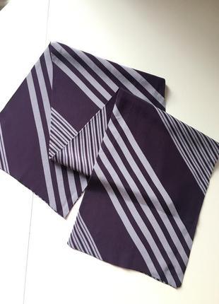 Шёлковый шарф 100*21