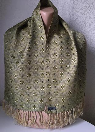 Английский  шарф мужской 116*27