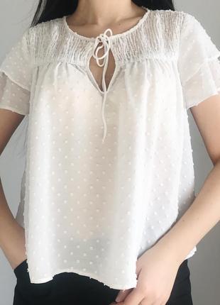 Легкая невесомая блуза zara