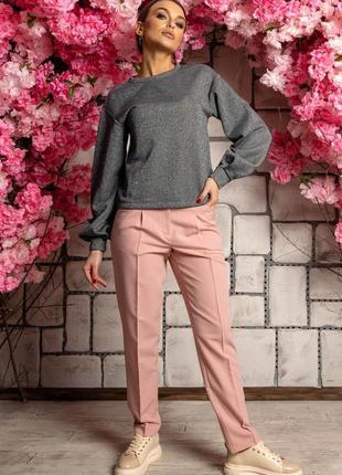 Женский деловой костюм с брюками и кофтой (ко 3721 rmmr)