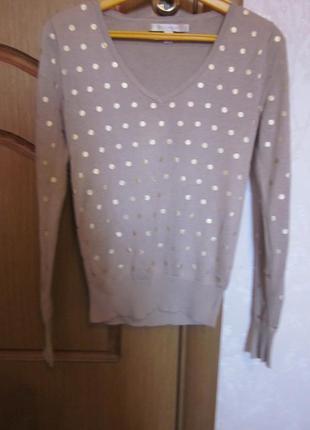 Фирменный симпатичный свитер размер xs