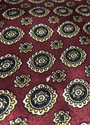 Пара мужских классических шёлковых шарфов.9 фото