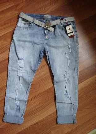 Женские брендовые джинсы liuzin 54 размер xl-xxl/54
