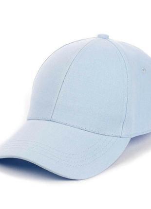Блакитна бейсболка кепка жіноча, останні!