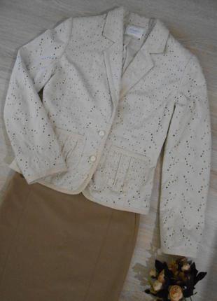 Пиджак натуральная прошва principles - xs-s / торг
