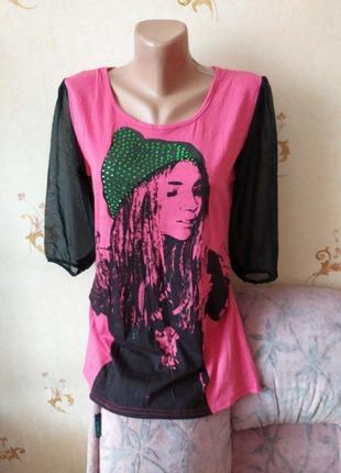 Классная модная кофточка, блуза, футболка