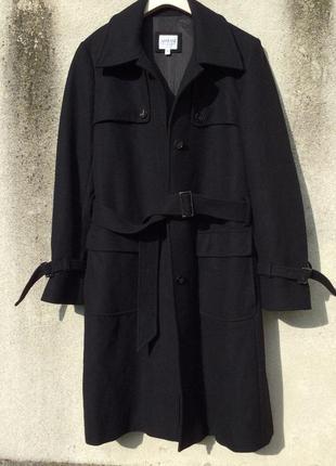 Armani collezioni великолепное пальто идеальный фасон в составе кашемир шерсть ангора