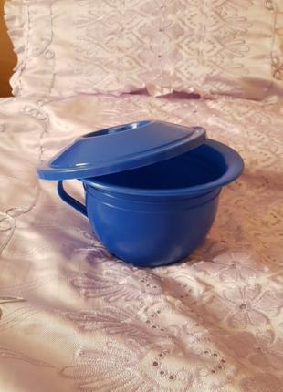 Горшок детский пластиковый новый синий обмен