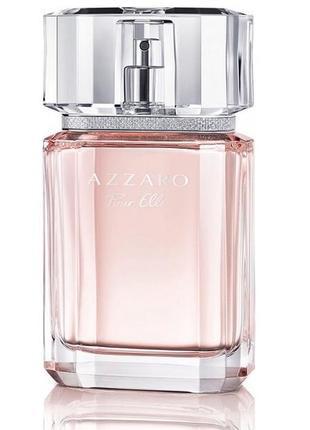 Azzaro pour elle 75 ml французская цветочная туалетная вода азара