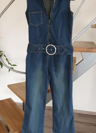 Комбинезон джинсовый разм 42