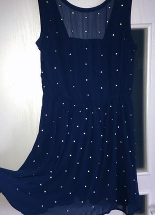 Коктейльное , вечернее платье asos 12 р 46-48 new стразы1 фото