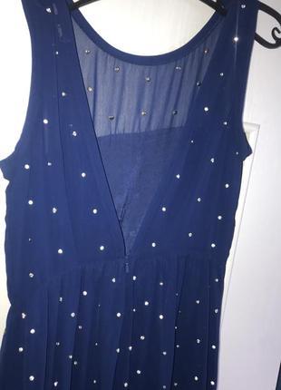 Коктейльное , вечернее платье asos 12 р 46-48 new стразы3 фото