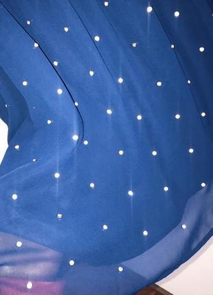 Коктейльное , вечернее платье asos 12 р 46-48 new стразы4 фото