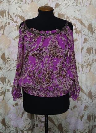 Блуза, кофточка с длинными рукавами.