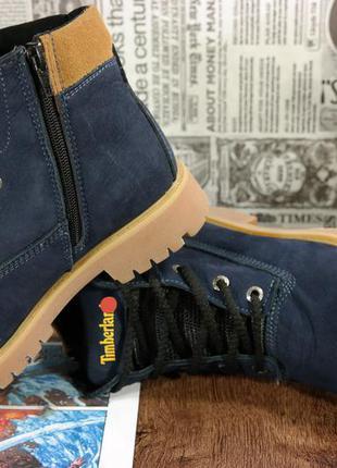 824fdc6fde98 ... Шикарные зимние женские ботинки,натуральный нубук. timber... теплый мех  35- ...
