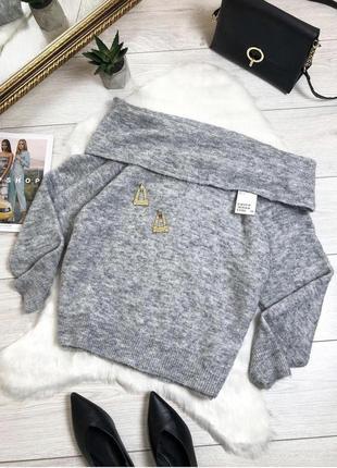 Крутой свитерок на плечи от н&м