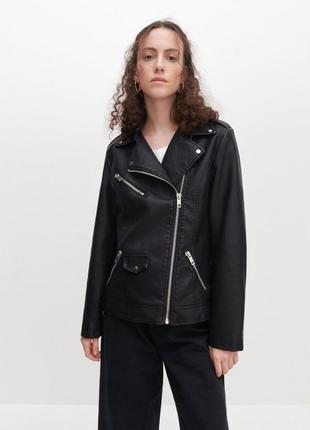 Куртка, косуха, женская кожаная новая польша 48 50 52 54 56