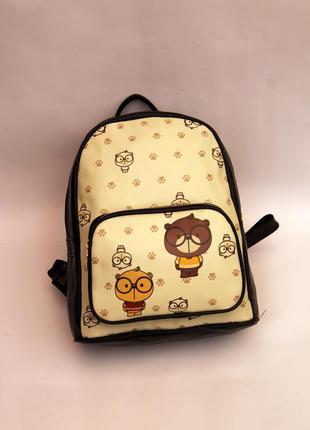 Рюкзак, ранец, эко кожа, детский