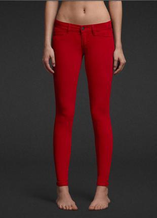 Abercrombie & fitch вильветовые штаны
