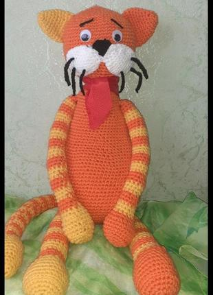 Мягкая вязанная игрушка