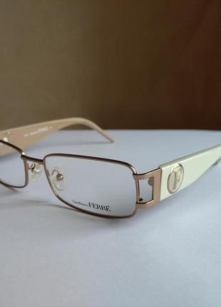 Фирменная оправа под линзы,очки оригинал g.ferre gf35202
