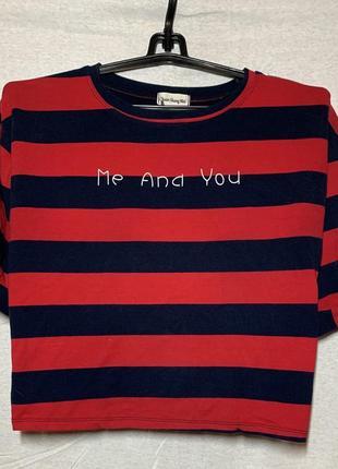 Футболка me and you