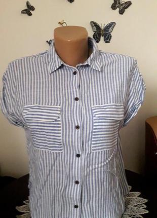 Актуальная блуза в полоску, распродажа