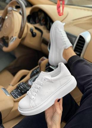 Женские белые кеды кроссовки криперсы криперы 36-41 размер & жіночі кеди кросівки