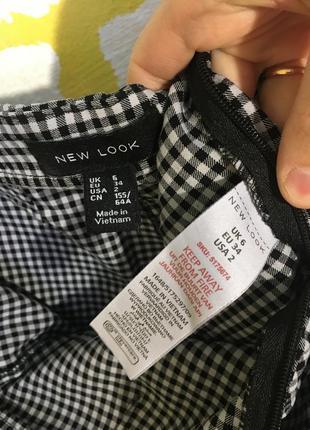 Актуальный укороченный свитер primark в клетку джемпер, свитшот кроп топ9 фото