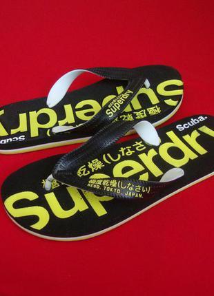 Вьетнамки superdry оригинал 40-41 размер