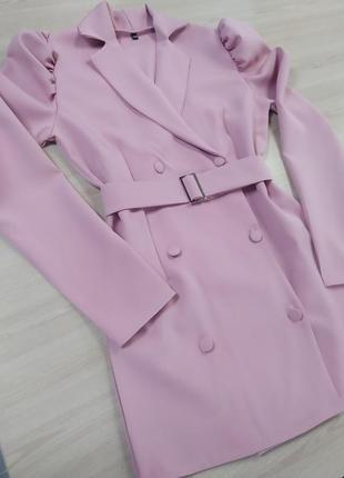 Платье пиджак5 фото