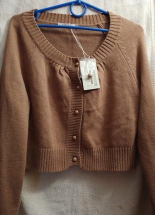 Укороченный свитер,жакет sela